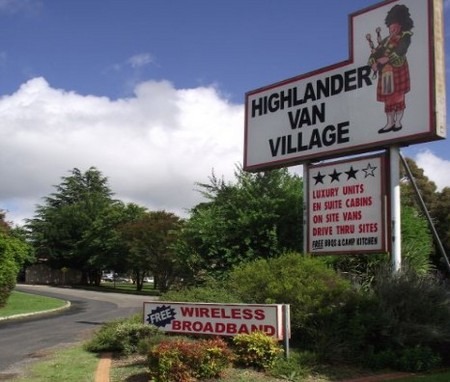 Highlander Van Village - Maitland Accommodation