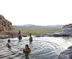 Gunlom Plunge Pool - Maitland Accommodation