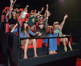 7D Cinema - Virtual Reality - Maitland Accommodation