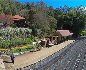 Spring Bluff Railway Station - Maitland Accommodation