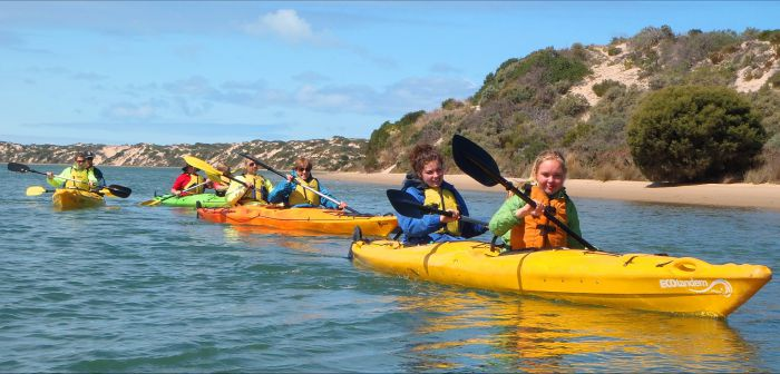 Canoe the Coorong - Maitland Accommodation