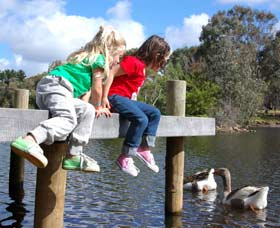 Vasse River and Rotary Park - Maitland Accommodation