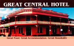 Great Central Hotel - Maitland Accommodation