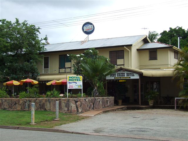 Pine Creek Hotel/Motel - Maitland Accommodation