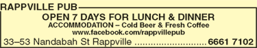 Rappville Pub - Maitland Accommodation