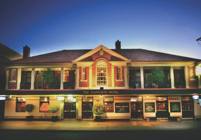 Tamworth Hotel - Maitland Accommodation